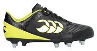 Canterbury Stampede 2.0 SG Rugby Boots - Adult - Black/Sulphur Spring