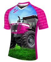 Mc Keever Pink Power 2017 Ploughing Championships Jersey - Womens