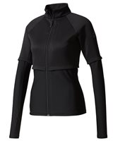 adidas Performance Melange Track Jacket - Womens - Black