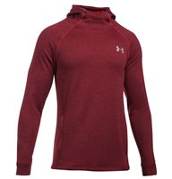 Under Armour Tech Terry Fitted Pull Over Hoodie - Mens - Red