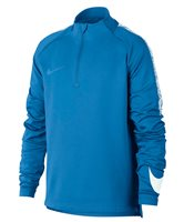 Nike Squad Half Zip Drill Top - Boys - Italy Blue/White