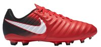 Nike Tiempo Ligera IV FG Football Boots - Youth - Red/Black