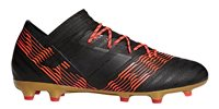 adidas Nemeziz 17.2 FG Football Boots - Adult - Black/Solar Red