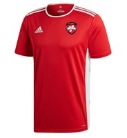 adidas County Derry GAA Entrada 18 Jersey - Youth - Red/White