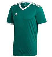 adidas Tabela 18 Jersey - Adult - Collegiate Green/White