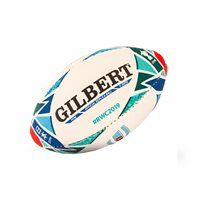 Gilbert Rugby World Cup 2019 Mini Replica Ball - White