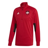 adidas County Derry GAA Condivo 18 Training Top - Adult - Red/Black/White