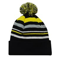 Mc Keever Beanie Hat - Yellow/Grey/Black