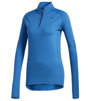 adidas Supernova 1/4 Zip Top - Womens - Noble Indigo/Heather