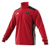 adidas Club Willow Park FC Regista 18 Training Top - Adult - Red/Black