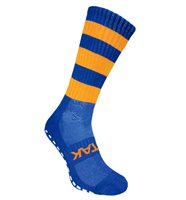 Atak Non Slip Shox Socks - Adult - Royal/Gold