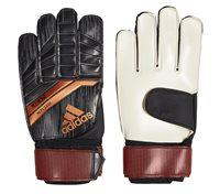 adidas Predator 18 Replique Goalkeeper Gloves - Adult - Black/Solar Red/Copper Gold