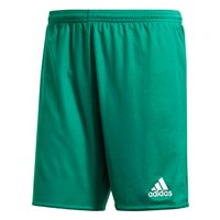adidas Parma 16 Shorts (With Briefs) - Adult - Bold Green/White