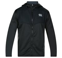 Canterbury Thermoreg Spacer Full Zip Fleece Hooded Jacket - Mens - Black