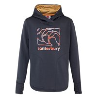 Canterbury Vaposhield Fleece Hoodie - Girls - Grisaille