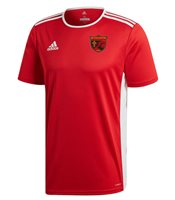adidas Club Ballingeary GAA Entrada 18 Jersey - Adult - Red/White