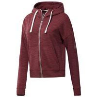 Reebok Elements Full Zip Hoodie - Womens - Urban Maroon