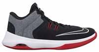 Nike Air Versitile II Basketball Shoes - Mens - Black/White/Gym Red
