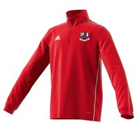 adidas Club Whitehall Colmcille GAA Core 18 Training Top - Youth - Red/White