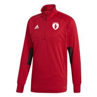 adidas County Tyrone GAA Condivo 18 Training Top - Adult - Red/Black/White