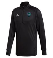 adidas County Fermanagh GAA Condivo 18 Training Top - Adult - Black/White