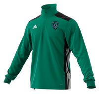 adidas County Fermanagh GAA Regista 18 Training Top - Adult - Green/Black