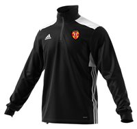 adidas County Ulster GAA Regista 18 Training Top - Adult - Black/White