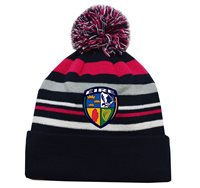 Mc Keever Ireland GAA Supporters Beanie Hat - Pink/Grey/Navy