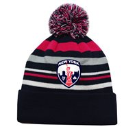 Mc Keever New York GAA Supporters Beanie Hat - Pink/Grey/Navy