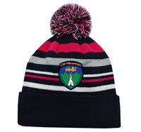 Mc Keever Wicklow GAA Supporters Beanie Hat - Pink/Grey/Navy