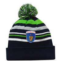 Mc Keever Armagh GAA Supporters Beanie Hat - Green/Grey/Navy