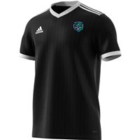 adidas County Fermanagh GAA Tabela 18 Jersey - Youth - Black/White