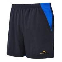 Ronhill Stride Cargo Shorts - Mens - Black/Electric Blue