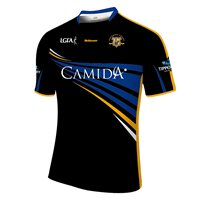 Mc Keever Tipperary LGFA Official Away Jersey (Youth) - Black/Gold