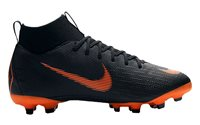 Nike Superfly VI Academy MG Football Boots - Youth - Black/Orange