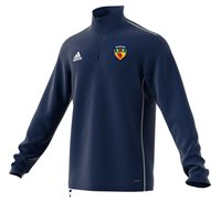 adidas County Antrim GAA Core 18 Training Top - Adult - Dark Blue/White
