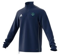 adidas County Fermanagh GAA Core 18 Training Top - Adult - Dark Blue/White