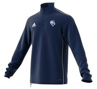adidas County Monaghan GAA Core 18 Training Top - Adult - Dark Blue/White