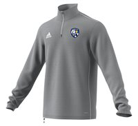 adidas County Monaghan GAA Core 18 Training Top - Adult - Stone/White