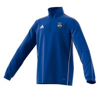 adidas Club Ballina Town FC Core 18 Training Top - Youth - Bold Blue/White