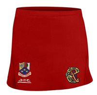 Atak Whitehall Colmcille GAA Camogie Skort (Junior) - Red