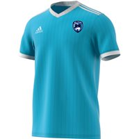 adidas County Dublin GAA Tabela 18 Jersey - Adult - Clear Blue/White