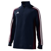 adidas Mi Team 18 1/4 Zip Training Top - Youth - Collegiate Navy/Maroon/White