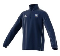 adidas County Monaghan GAA Core 18 Training Top - Youth - Dark Blue/White