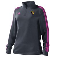 adidas Mi County Wexford GAA Mi Team 18 1/4 Zip Training Top - Womens - Onix/Intense Pink