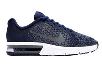 Nike Air Max Sequent 2 Running Shoes - Boys - Binary Blue/Dark Obsidian