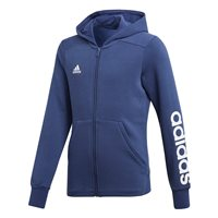 adidas Essentials 3 Stipes Mid Hoodie - Girls - Noble Indigo/White