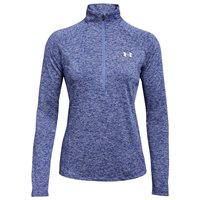 Under Armour Tech Twist 1/2 Zip - Womens - Indigo Blue