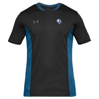 Under Armour County Monaghan GAA Challenger II Tee - Adult - Black/Royal
