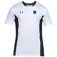 Under Armour County Wicklow GAA Challenger II Tee - Adult - White/Black